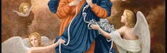 Novéna k Panně Marii rozvazující uzly 1.den